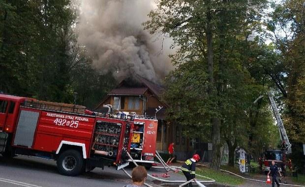Rabka-Zdrój: W jednym z domów doszło do wybuchu butli z gazem