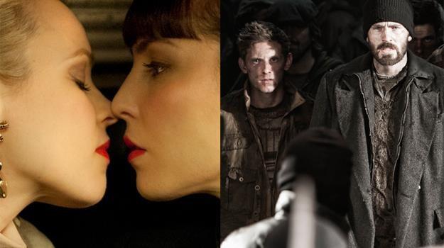 """Rachel McAdams i Noomi Rapace w """"Namiętności"""" oraz Jamie Bell i Chris Evans w """"Snowpiercerze"""" /materiały prasowe"""