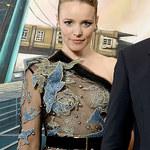 Rachel McAdams promuje film w przezroczystej sukience!