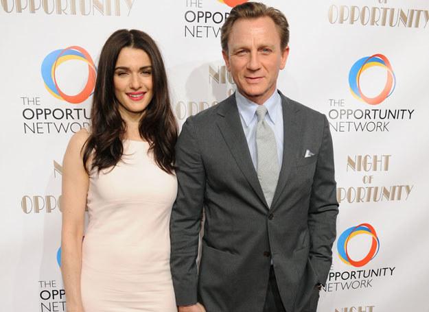 Rachel Weisz i Daniel Craig /Getty Images