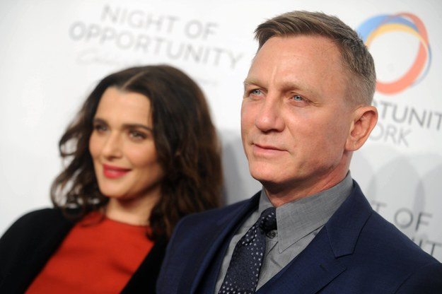 Rachel Weisz i Daniel Craig /Dennis Van Tine    /PAP/Abaca