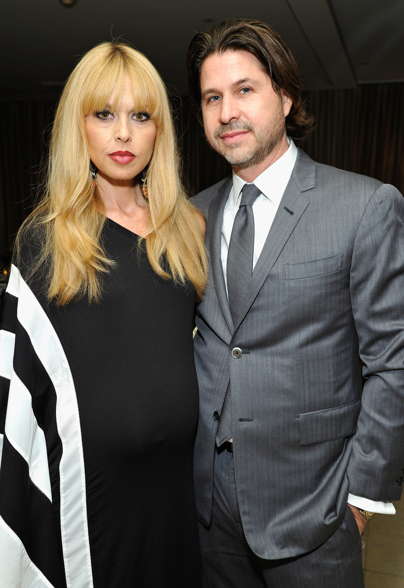 Rachel Zoe i Roger Berman /- /Getty Images