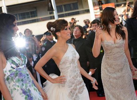 Rachida Brakni, Eva Longoria i Aishwarya Rai w Cannes występowały w roli ambasadorek L'Oreal. /AFP