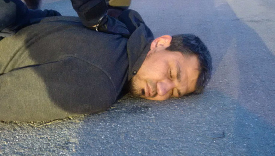 Rachmat Akiłow zatrzymany po zamachu w stolicy Szwecji /PAP/EPA