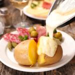 Raclette z patelni z ziemniakami
