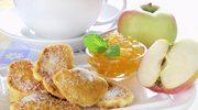 Racuchy maślankowe  z jabłkami