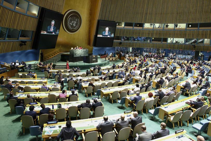 Rada Bezpieczeństwa ONZ /ENA BETANCUR /AFP