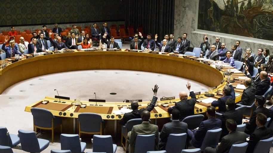 Rada Bezpieczeństwa ONZ /JUSTIN LANE /PAP/EPA