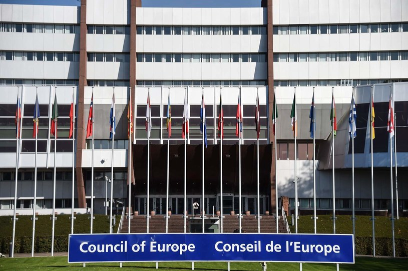 Rada Europy w Strasburgu /AFP