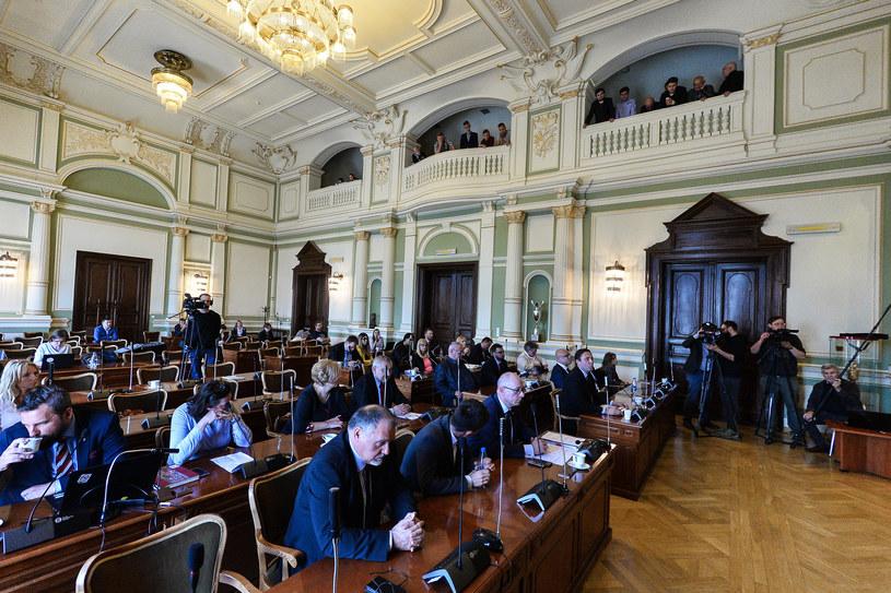Rada Miasta Gdańska (arch.) / Łukasz Dejnarowicz  /Agencja FORUM