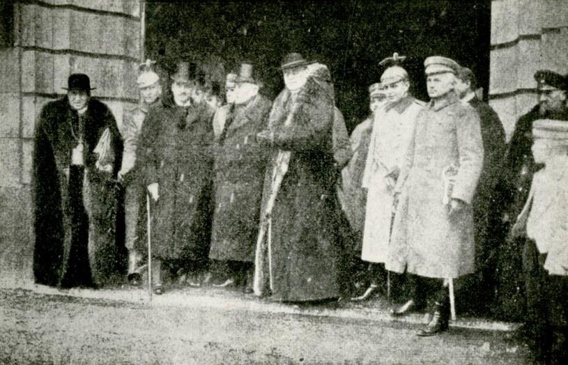 Rada Regencyjna podczas wizyty w Berlinie /Archiwum Akt Nowych