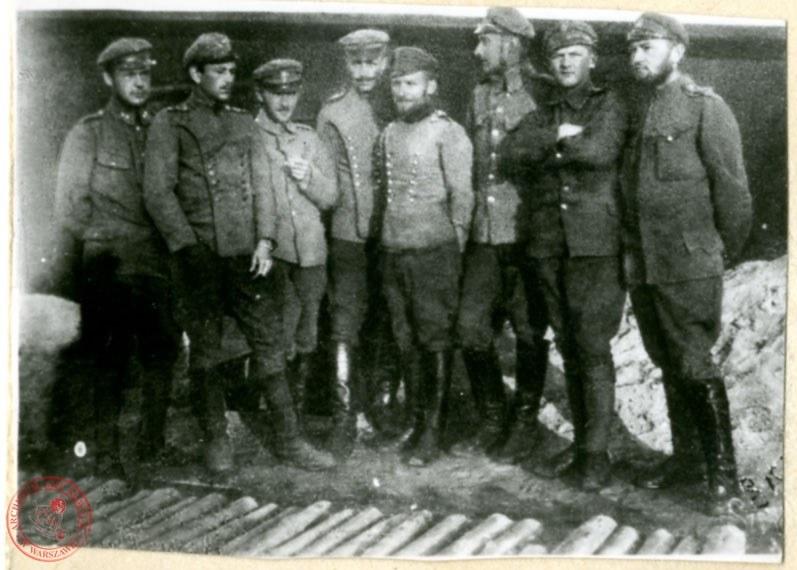 Rada Żołnierska w Obozie w Szczypiornie, 1917 rok /Archiwum Akt Nowych