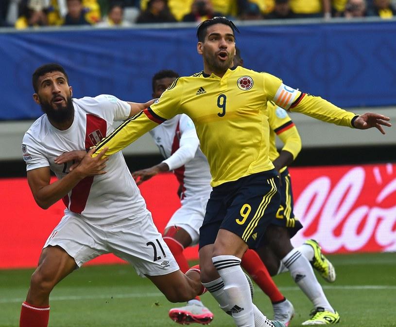 Radamel Falcao podczas Copa America /AFP