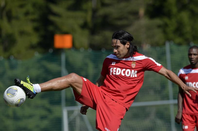 Radamel Falcao przechodząc do AS Monaco pod względem sportowym zrobił krok w tył /AFP