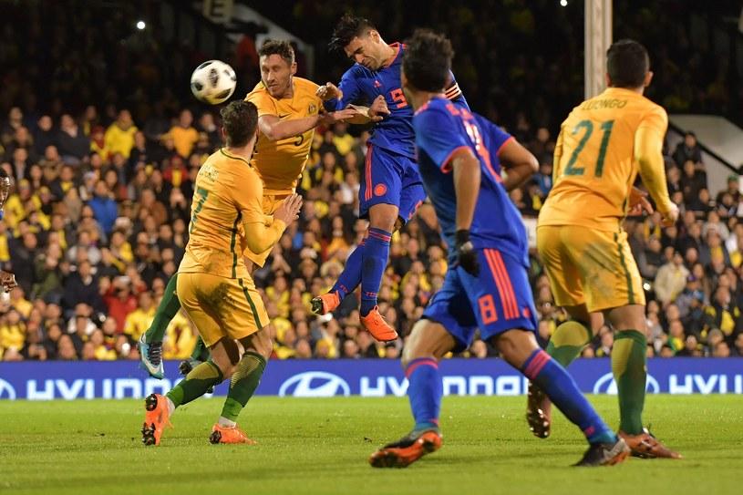 Radamel Falcao w meczu z Australią /AFP