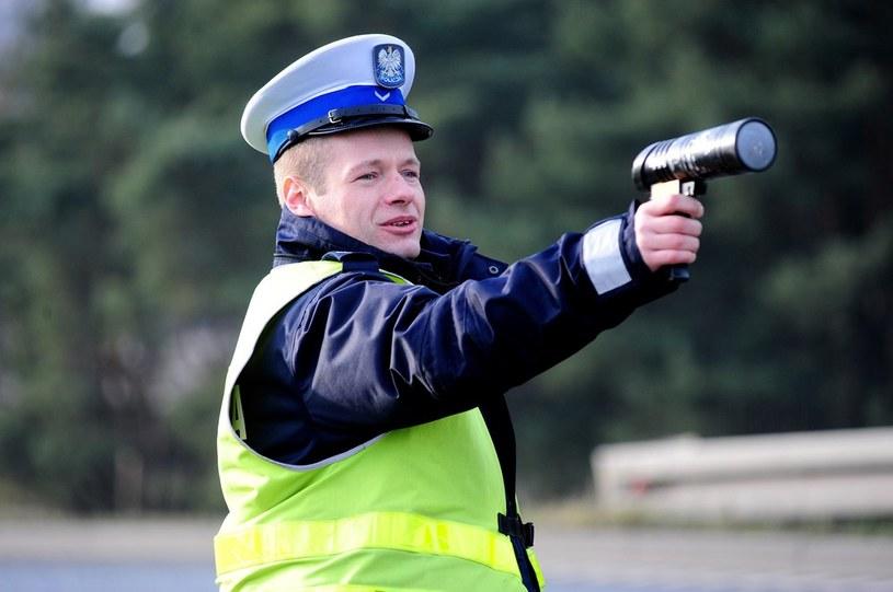 Radary Iskra są powszechnie używane przez polską policję /Paweł Skraba /Reporter