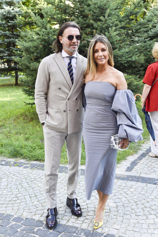 Radek i Małgorzata Rozenkowie /AKPA