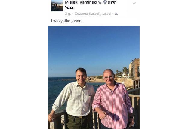 """Radek i Misiek: """"I wszystko jasne"""". Ośmiorniczki poza kadrem /Twitter"""