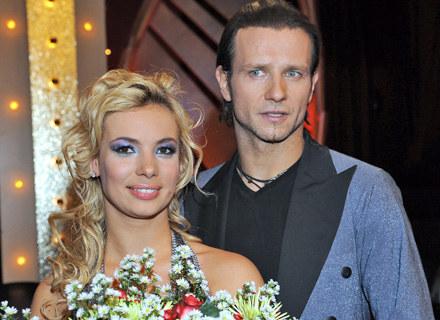 Radek Majdan i Iza Janachowska pożegnali się z programem, fot. Andras Szilagyi /MWMedia