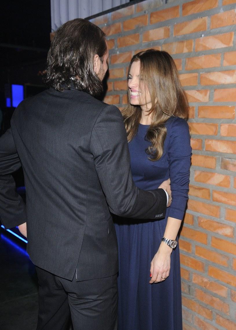 Radek Majdan z byłą żoną Sylwią /Radosław Antoniak /MWMedia