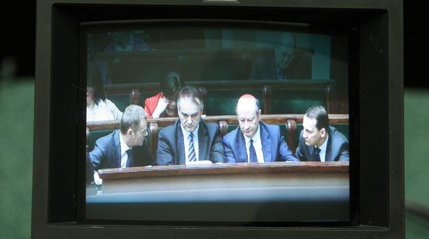 Radek Sikorski nie mógł zobaczyć się w telewizji / fot. S. Kowalczuk /East News