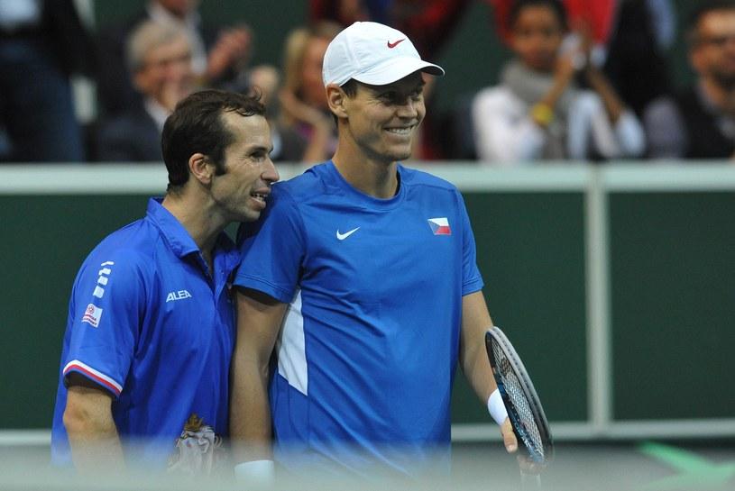 Radek Stepanek i Tomas Berdych /AFP