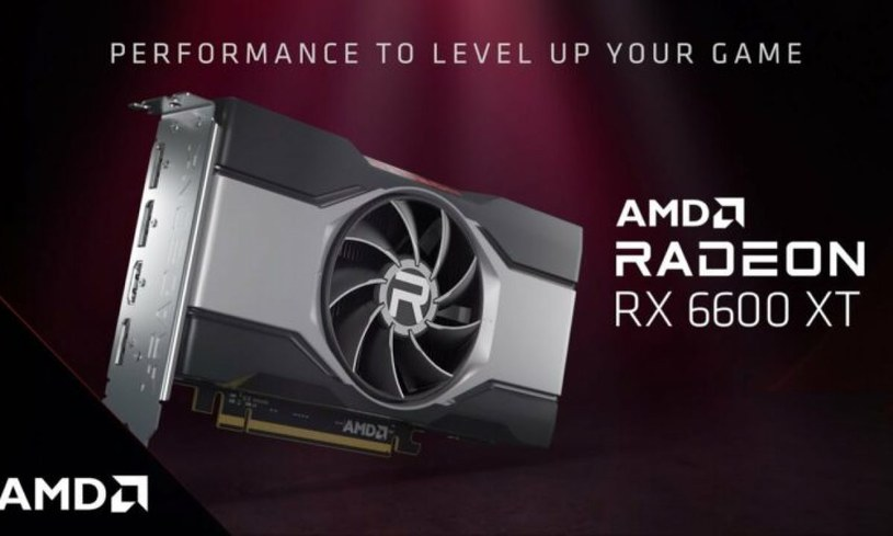 Radeon RX 6600 /materiały prasowe