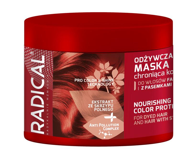 Radical odżywcza maska chroniąca kolor włosów /materiały prasowe