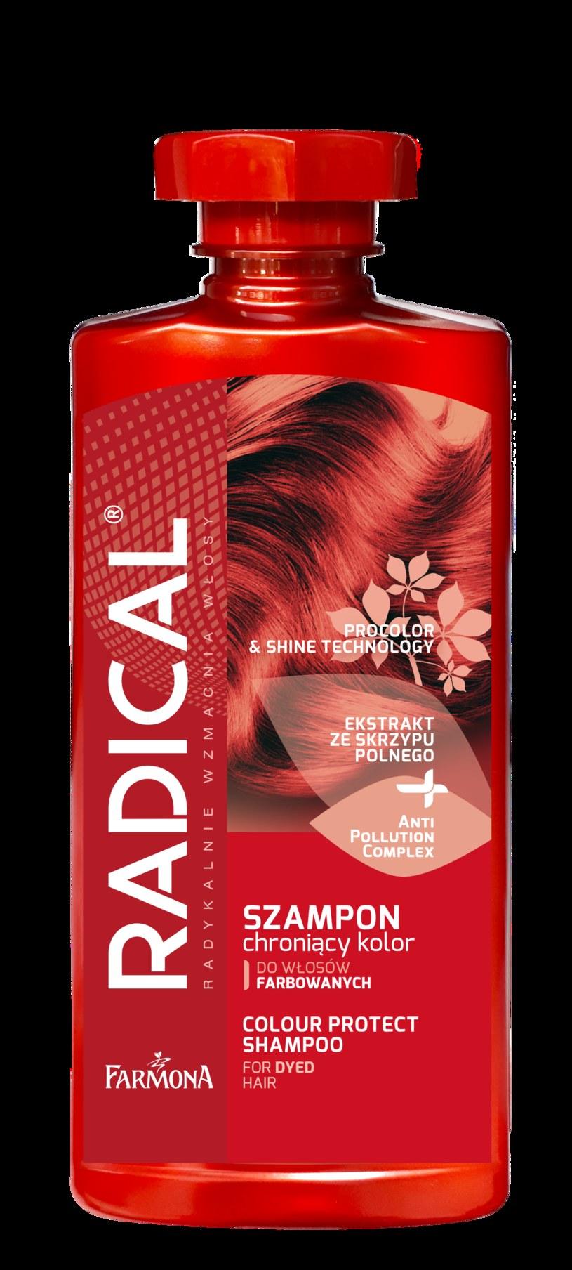 RADICAL szampon chroniący kolor włosów /INTERIA.PL/materiały prasowe