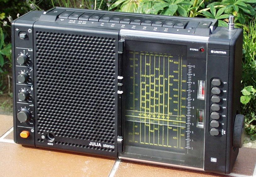 Radio Eltra Julia - taki radioodbiornik mógł być używany do podsłuchu /Archiwum autora