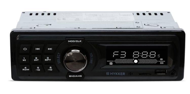 Radio samochodowe Hykker Tune /materiały prasowe
