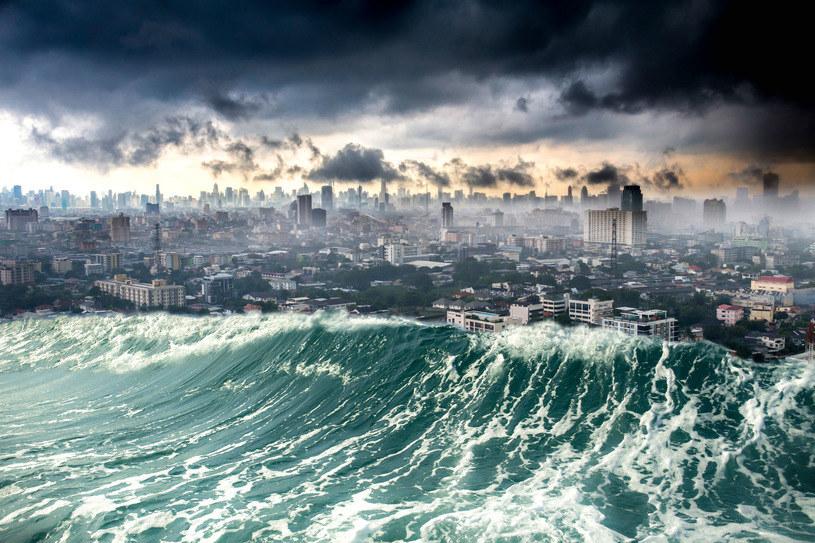 Radioaktywne tsunami może zniszczyć wybrzeża /123RF/PICSEL