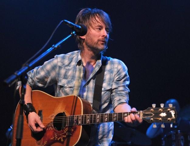 Radiohead pół roku dochodzili do siebie po słynnym koncercie w deszczu - fot. John Shearer /Getty Images/Flash Press Media