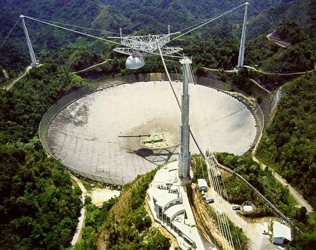 Radioteleskop Arecibo w Puerto Rico /INTERIA.PL