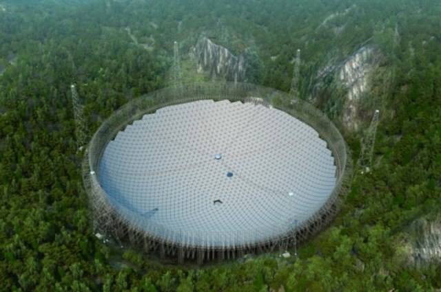 Radioteleskop FAST - wizja artystyczna /materiały prasowe