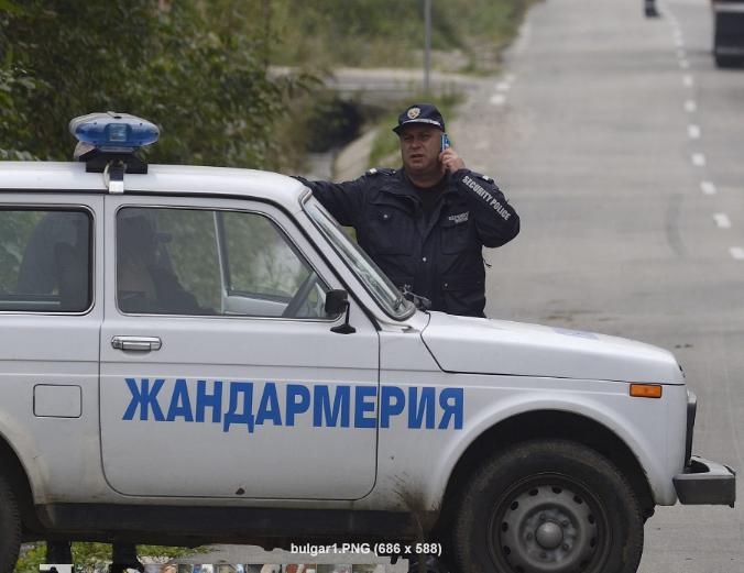 Radiowóz bułgarskiej żandarmerii (zdjęcie ilustracyjne) /VASSIL DONEV /PAP/EPA