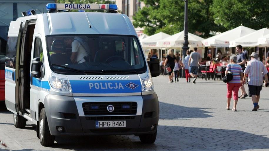 Radiowóz na jednej z ulic Krakowa [zdj. ilustracyjne] /Maciej Nycz /Archiwum RMF FM