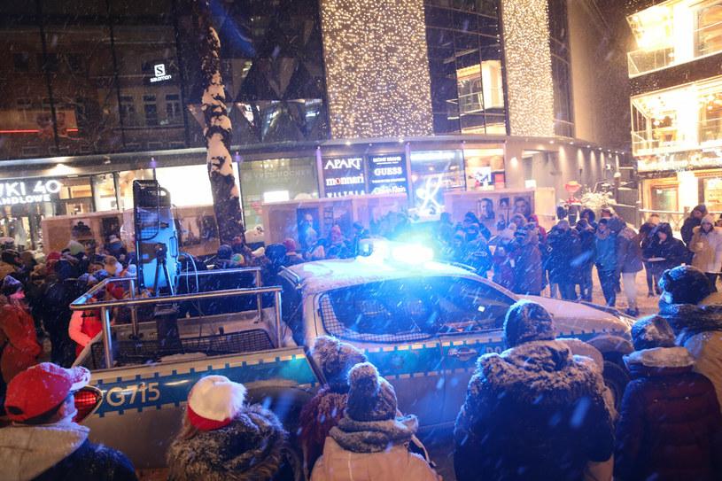 Radiowóz na Krupówkach /TOMASZ DNO/Polska Press /East News