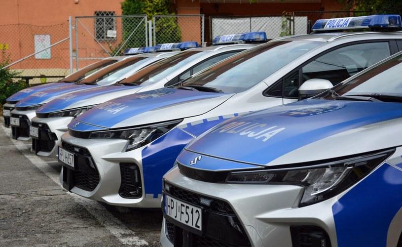 Radiowozy Suzuki Swace /Policja