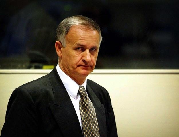 Radislav Krstić /PAUL VREEKER  /PAP/EPA