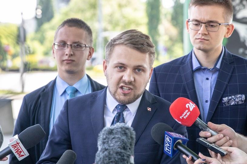 Radny dzielnicy Mokotów Jacek Ozdoba (PiS) /Grzegorz Banaszak/REPORTER /Reporter