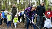 Radom: Agata Kornhauser-Duda wzięła udział w akcji sadzenia drzew
