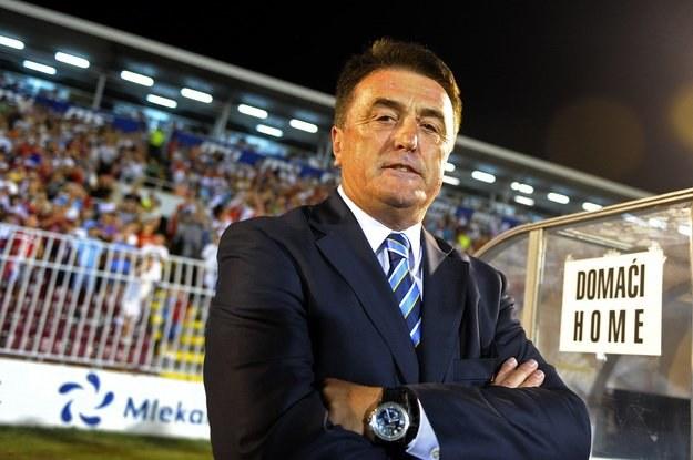 Radomir Antić nie jest już selekcjonerem reprezentacji Serbii /AFP