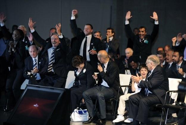 Radość francuskiej delegacji /AFP