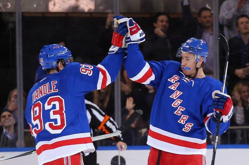 Radość hokeistów New York Rangers /AFP