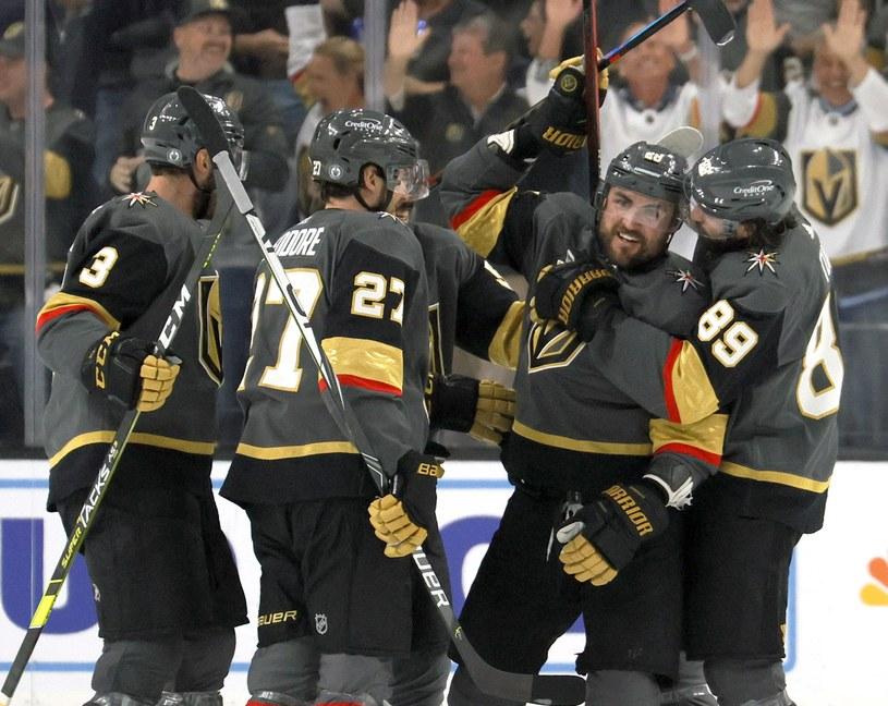 Radość hokeistów Vegas Golden Knights /AFP