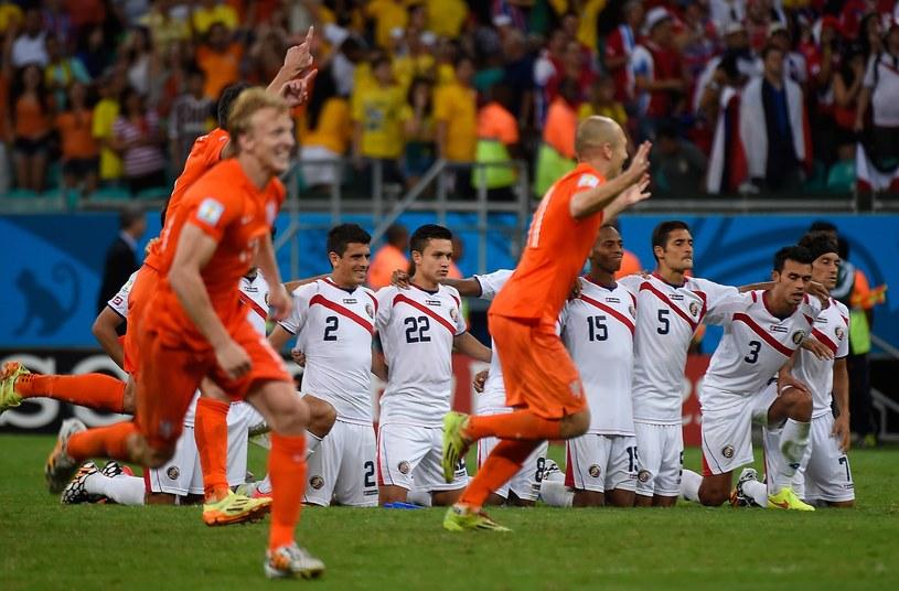 Radość Holendrów z awansu do półfinału mistrzostw świata /AFP