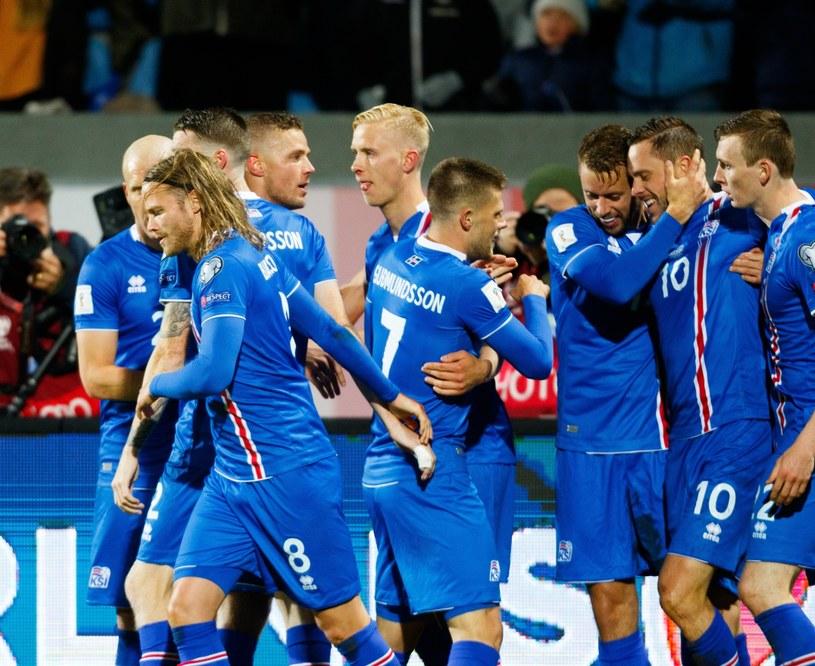 Radość Islandczyków /PAP/EPA