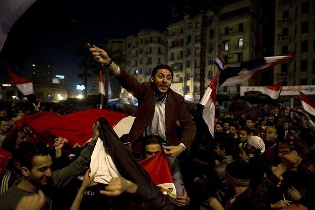 Radość na placu Tahrir /AFP
