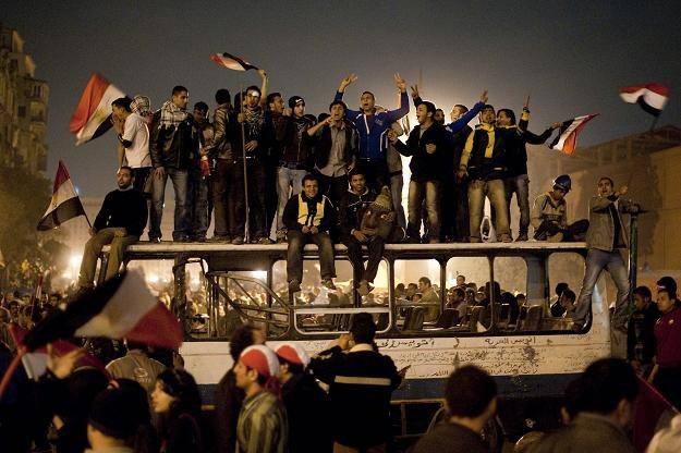 Radość na ulicach Kairu /AFP